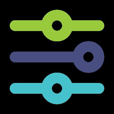 Settings sliders icon