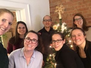 Cathexis staff celebrate the holidays 2018